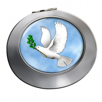 Dove of Noah Chrome Mirror