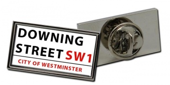 Downing Street Rectangle Pin Badge