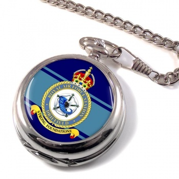 RAF Station Driffield Pocket Watch