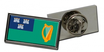 Dublin (Ireland) Flag Pin Badge
