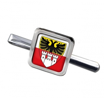 Duisburg (Germany) Square Tie Clip