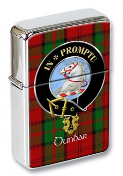 Dunbar Scottish Clan Flip Top Lighter