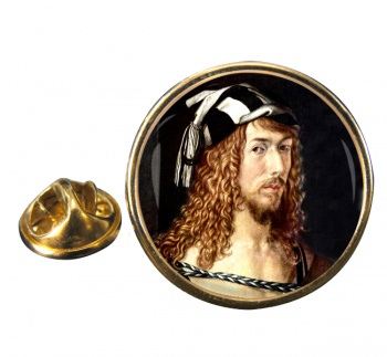 Albrecht Durer Round Pin Badge