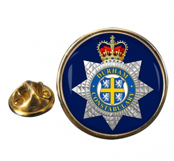 Durham Constabulary Round Pin Badge