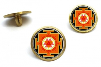Durga Yantra Golf Ball Markers