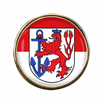 Dusseldorf (Germany) Round Pin Badge