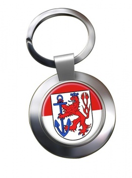 Dusseldorf (Germany) Metal Key Ring
