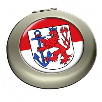 Dusseldorf (Germany) Round Mirror