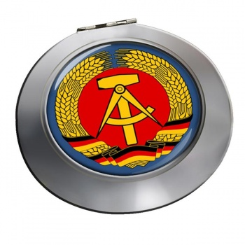 Ostdeutschland (East Germany) Round Mirror