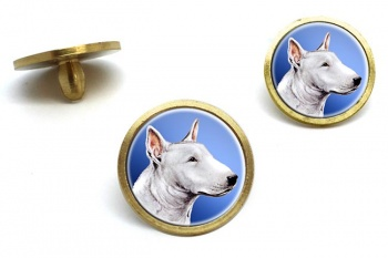 English Bull Terrier  Golf Ball Marker Set