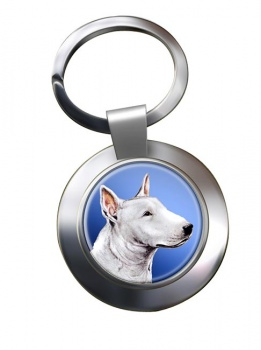 English Bull Terrier Metal Key Ring