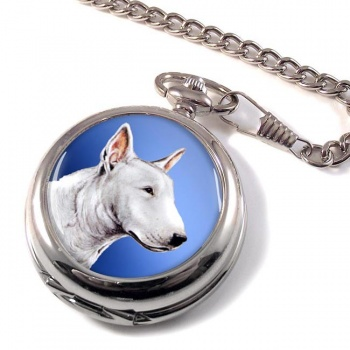 English Bull Terrier Pocket Watch