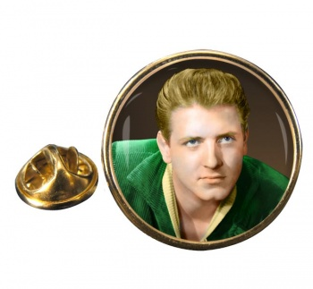 Eddie Cochrane Round Pin Badge