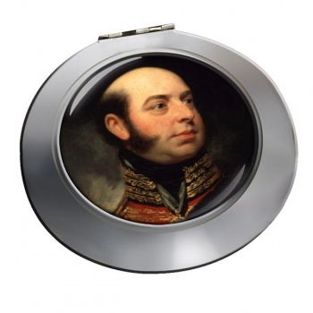 Edward Duke of Kent Chrome Mirror