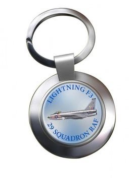 Lightning F3 Chrome Key Ring