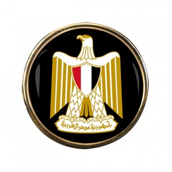 Egypt Round Pin Badge