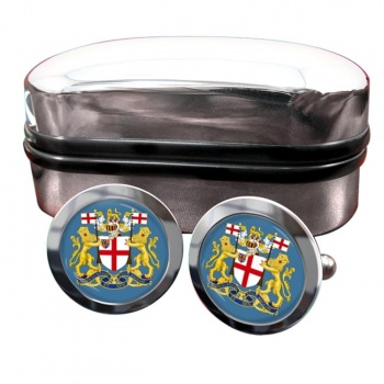 East India Company Round Cufflinks
