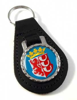 Eindhoven (Netherlands) Leather Key Fob