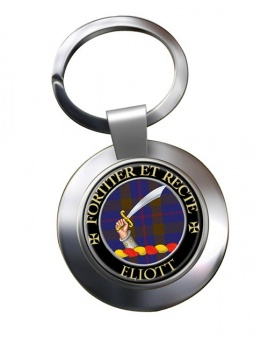 Eliott Scottish Clan Chrome Key Ring