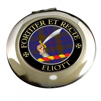Eliott Scottish Clan Chrome Mirror