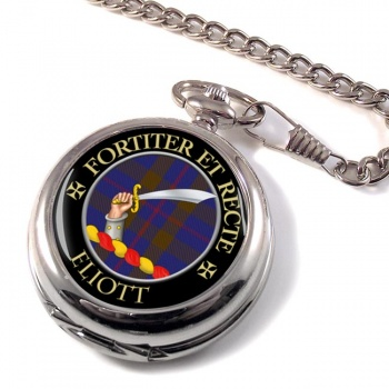 Eliott Scottish Clan Pocket Watch