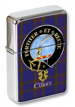 Elliott Scottish Clan Flip Top Lighter