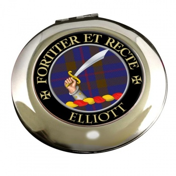 Elliott Scottish Clan Chrome Mirror