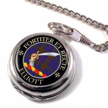 Elliott Scottish Clan Pocket Watch