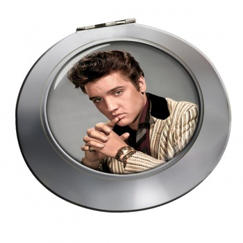Elvis Aaron Presley Chrome Mirror