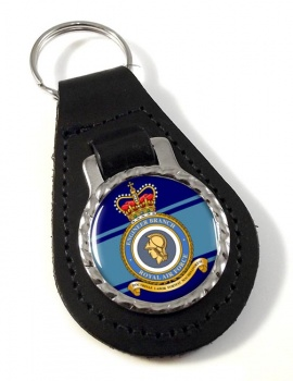 Engineer Branch (Royal Air Force) Leather Key Fob