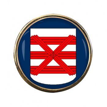 Enschede (Netherlands) Round Pin Badge
