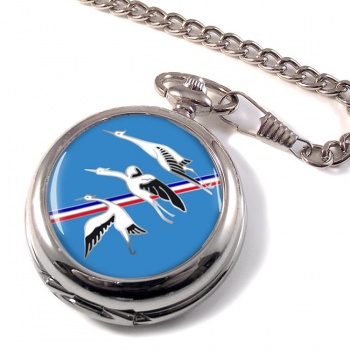 Escadron de Chasse 01-002 ''Cigognes'' (French Air Force) Pocket Watch