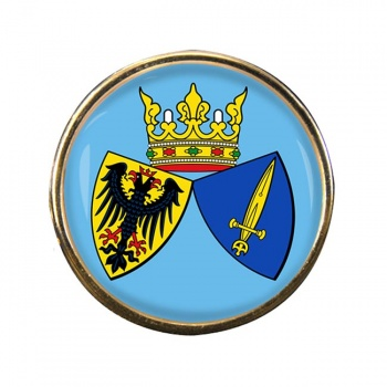 Essen (Germany) Round Pin Badge