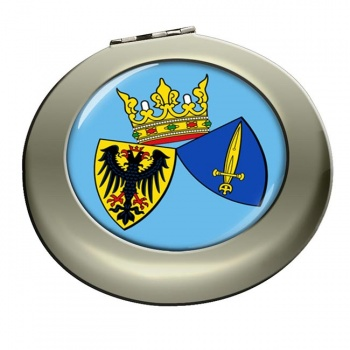 Essen (Germany) Round Mirror