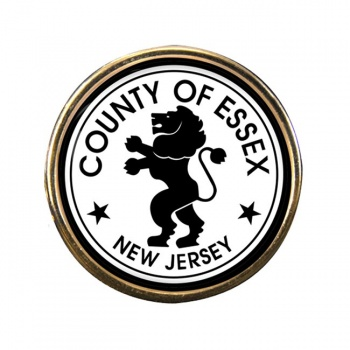 Essex County NJ Round Pin Badge