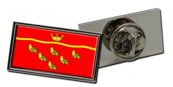 East Sussex (England) Flag Pin Badge