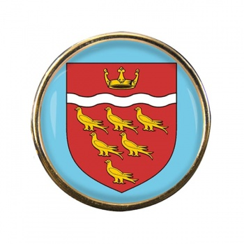East Sussex (England) Round Pin Badge