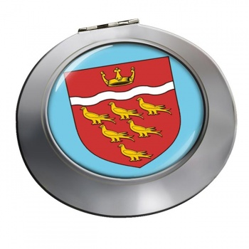 East Sussex (England) Round Mirror