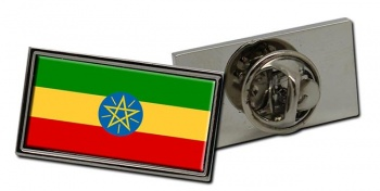 Ethiopia Flag Pin Badge