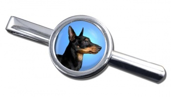English Toy Terrier (Black & Tan) Tie Clip
