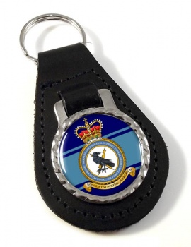 Electronic Warfare Operational Support Establishment (Royal Air Force) Leather Key Fob