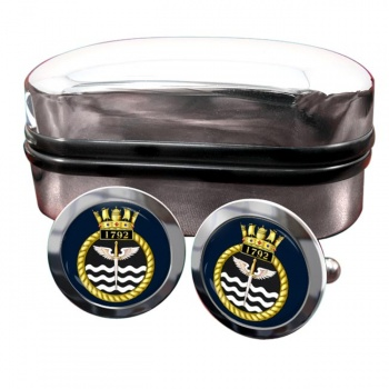 1792 Naval Air Squadron (Royal Navy) Round Cufflinks