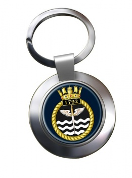 1792 Naval Air Squadron (Royal Navy) Chrome Key Ring