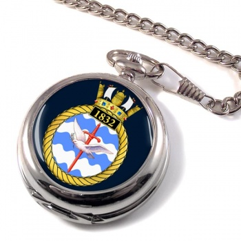 1832 Naval Air Squadron (Royal Navy) Pocket Watch