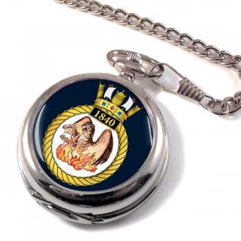 1840 Naval Air Squadron (Royal Navy) Pocket Watch