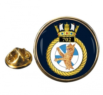 702 Naval Air Squadron (Royal Navy) Round Pin Badge