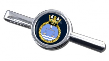 703 Naval Air Squadron (Royal Navy) Round Tie Clip