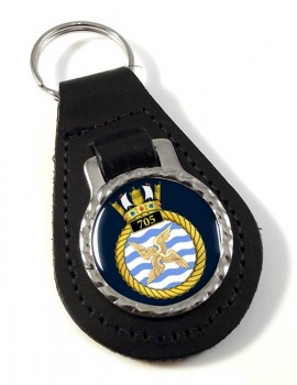 705 Naval Air Squadron (Royal Navy) Leather Key Fob