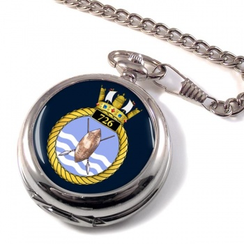 726 Naval Air Squadron Pocket Watch
