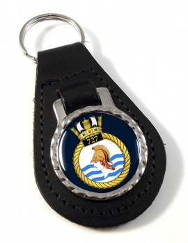727 Naval Air Squadron (Royal Navy) Leather Key Fob